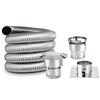 5 Inch Round, Chimney Liner Kit, SINGLE PLY