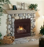 FMI Products B Vent Gas Fireplace Cottage