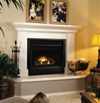 FMI Products Direct Vent Gas Fireplace Cottage