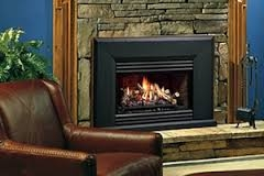 Kingsman Vented Gas Fireplace Insert VFI25
