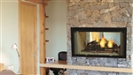 Majestic Wood Fireplace Designer See-Through 36""