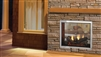 Majestic Indoor/Outdoor Gas Fireplace Fortress