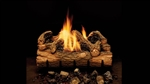 Monessen Vented or Vent Free Gas Log Set Charred Hickory