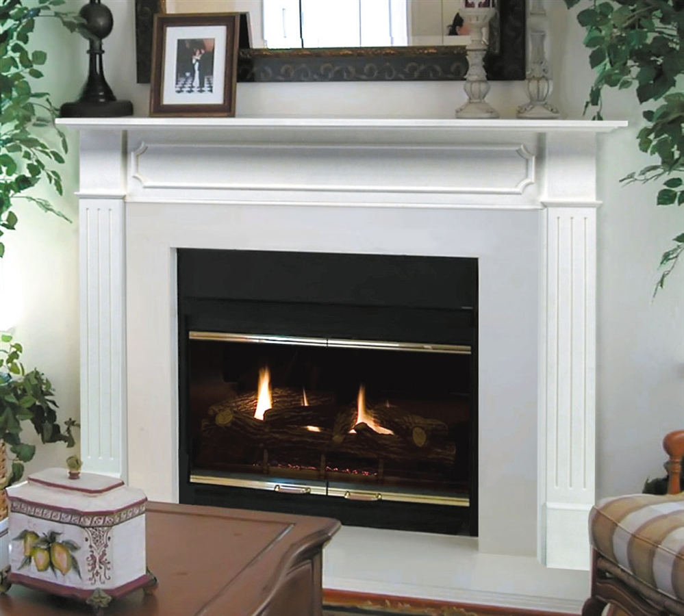 Fireplaceinsert.com, Pearl Mantels Newport Fireplace