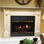 Pearl Mantels Classique Fireplace Mantel Surround