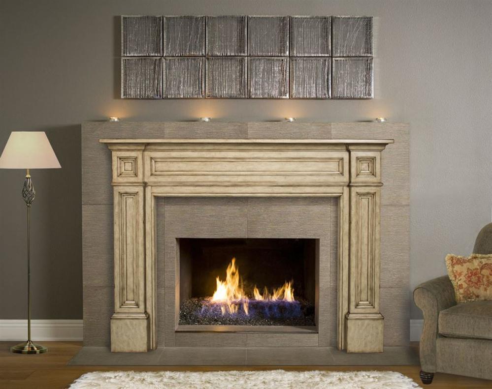 Fireplaceinsert.com, Pearl Mantels Classique Fireplace Mantel Surround