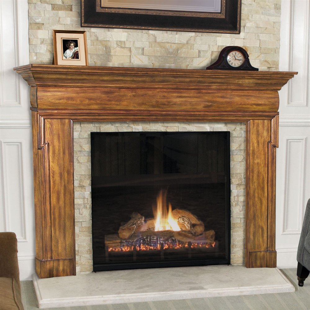 Pearl Mantel Hermitage Fireplace Surround
