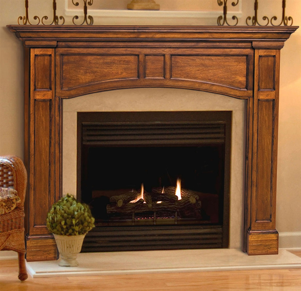 Pearl Mantels Avondale Fireplace Surround: Pearl Mantels Vance Fireplace Mantel Surround