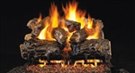 Peterson Real Fyre Vented Gas Log Set Burnt Rustic Oak