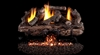 Peterson Real Fyre Vent Free Gas Log Set Charred Aged Split Oak