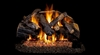 Peterson Real Fyre Vented Gas Log Set Charred Majestic Oak