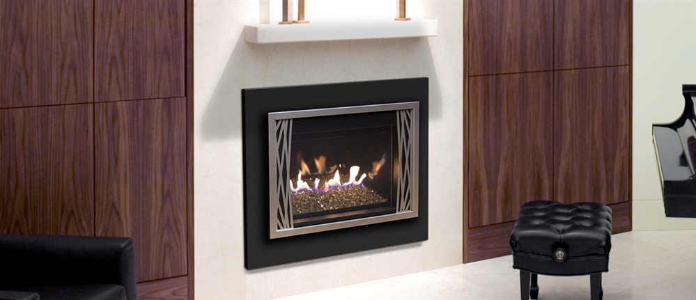 R H Peterson Contemporary Gas Insert