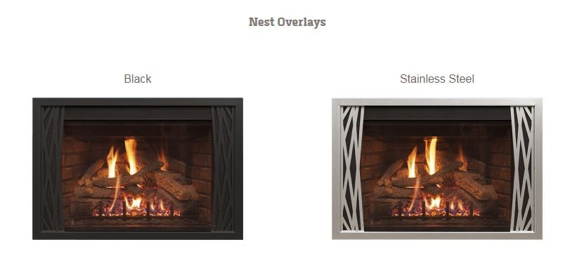 R H Peterson Fireplace Gas Insert Dvic 25i