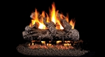 Peterson Real Fyre Vented Gas Log Set Rustic Oak