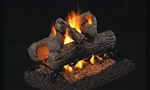Peterson Real Fyre Vented See-Thru Gas Log Set Golden Oak