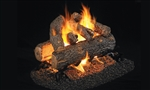 Peterson Real Fyre Vented See-Thru Gas Log Set Golden Oak Designer Plus