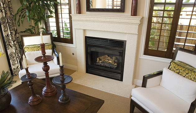 Superior B Vent Gas Fireplace Bct2536