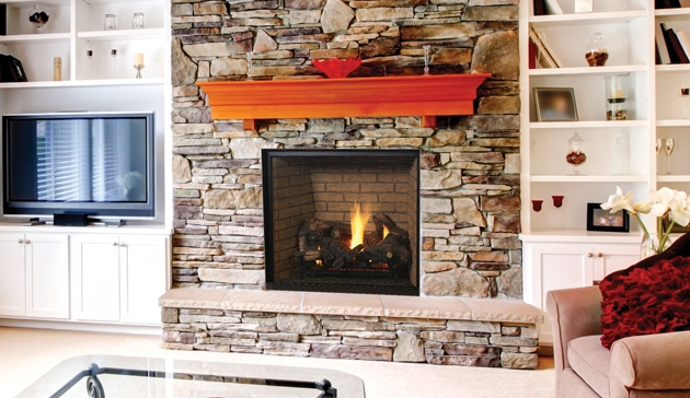 Superior Direct Vent Gas Fireplace DRT6300