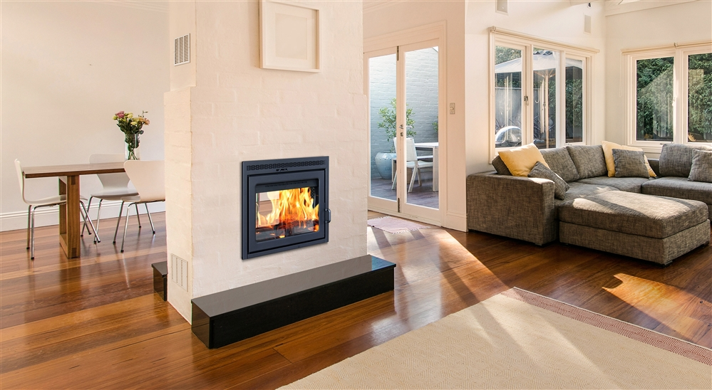 Supreme Double Sided Fireplace
