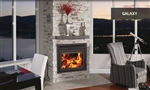 Supreme Galaxy Fireplace Contemporary