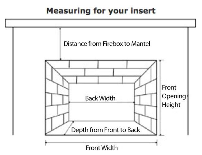 Fireplaceinsert.com,Vantage Hearth Vent Free Gas Fireplace Insert VI33