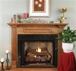Vantage Hearth Vent Free Gas Full-View Traditional Firebox