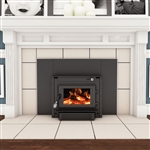 Vogelzang Colonial Plate Steel Fireplace Insert