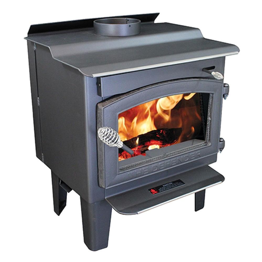 - Fireplaceinsert.com, Vogelzang Plate Steel Wood Stove Defender