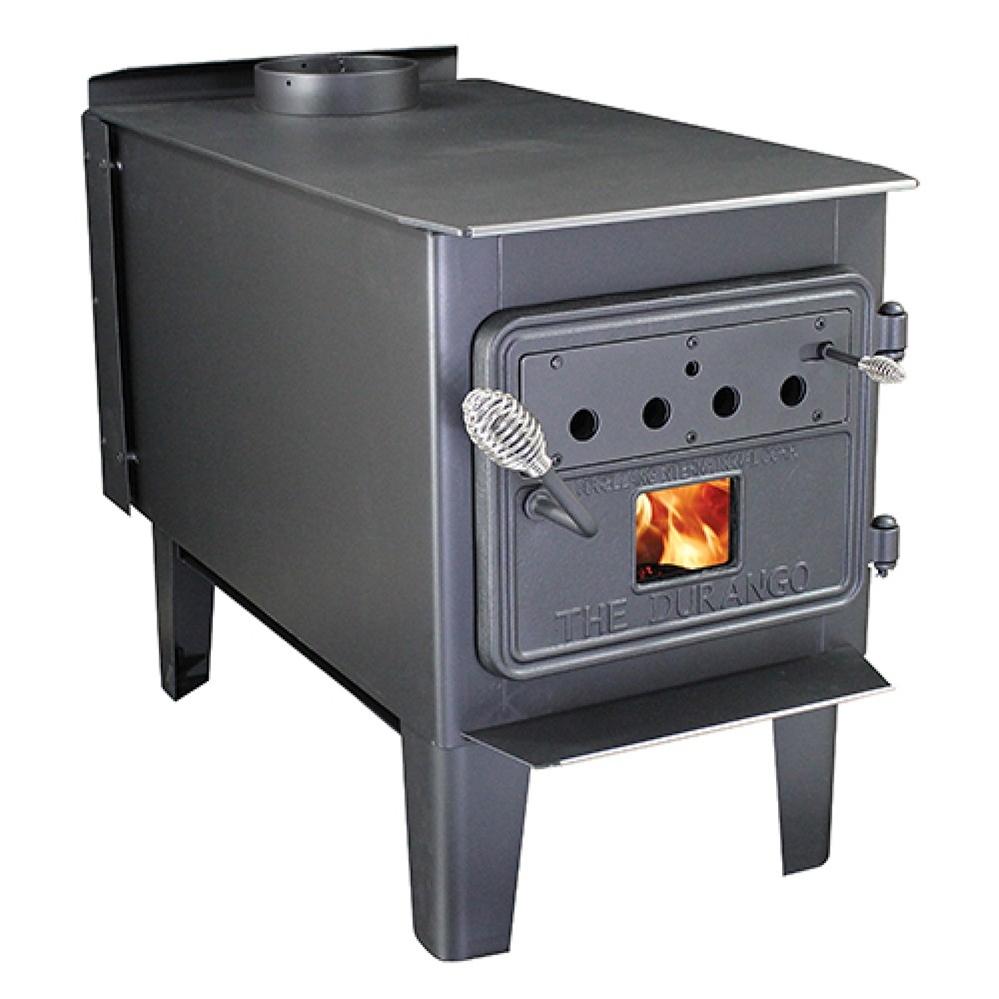 Sale ... - Fireplaceinsert.com, Vogelzang Plate Steel Wood Stove Durango