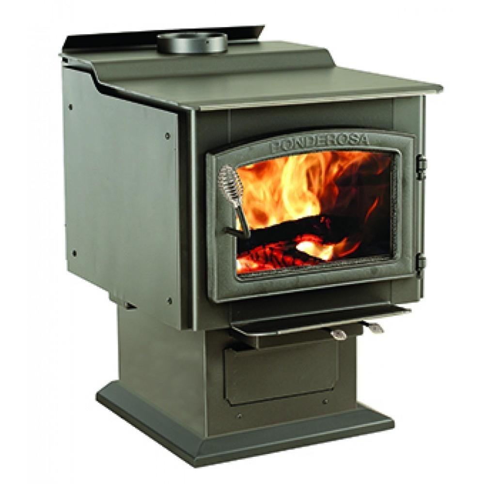 Sale ... - Fireplaceinsert.com,Vogelzang Plate Steel Wood Stove Ponderosa
