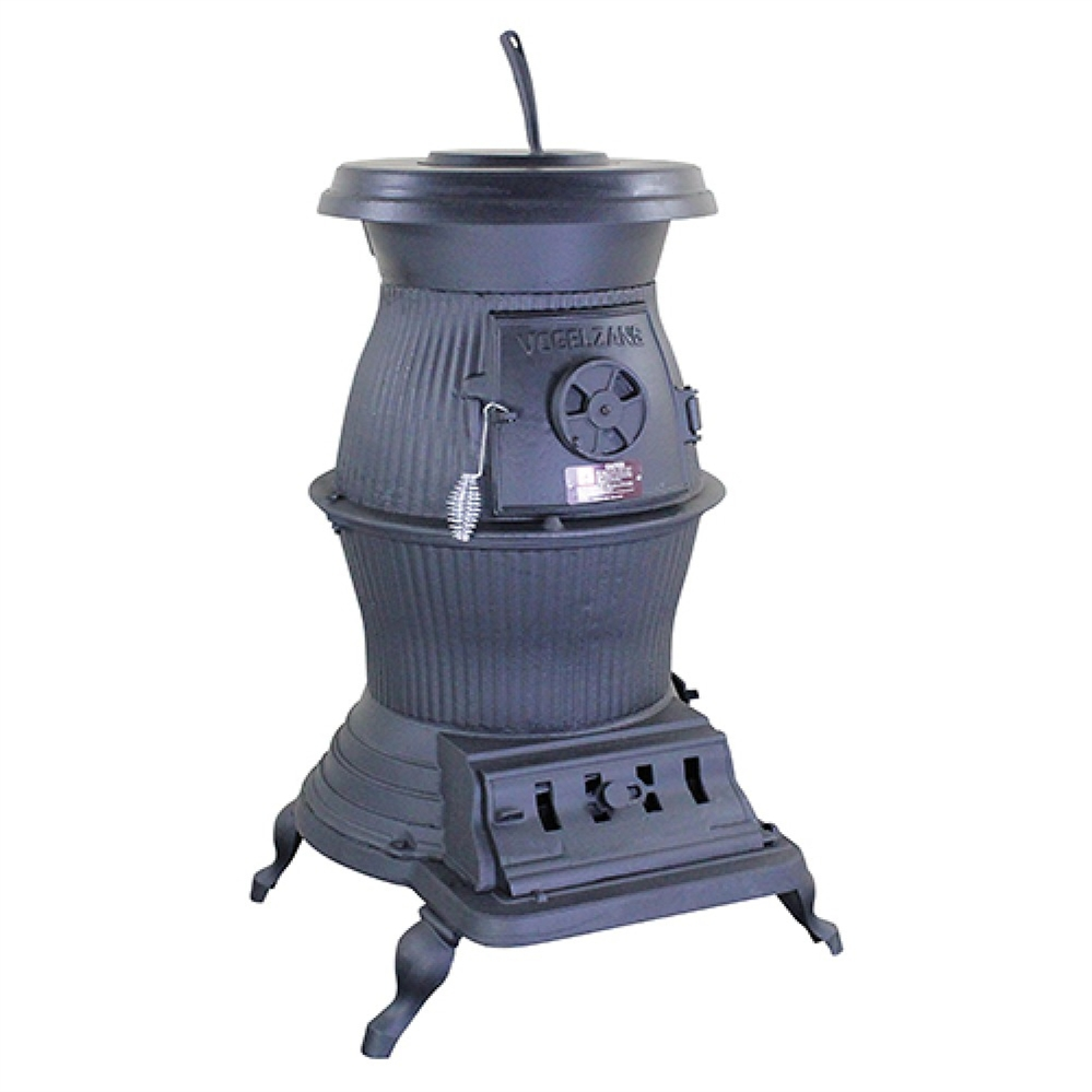 Fireplace.com, Vogelzang Cast Iron Railroad Potbelly Wood Stove