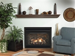 "White Mountain Hearth B Vent Fireplace Keystone 34"" Deluxe"