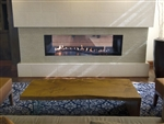 White Mountain Hearth by Empire VF Linear See-Through Gas Fireplace Boulevard 48""