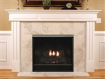 White Mountain Hearth by Empire DV Clean Face Fireplace Tahoe Deluxe 32""