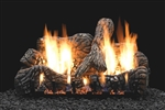White Mountain Hearth by Empire Vent Free Gas Log Set Charred Oak