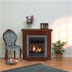 White Mountain Hearth by Empire Vent Free Gas Fireplace Vail 24""