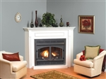 "White Mountain Hearth by Empire Vent Free Gas Fireplace Vail 32"" Premium"