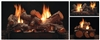 White Mountain Hearth by Empire Vent Free Multi-Sided Gas Log Set Rock Creek