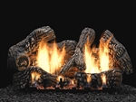 White Mountain Hearth by Empire Vent Free Gas Log Set Super Charred Oak