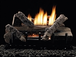 White Mountain Hearth by Empire Vent Free Gas Log Set Whiskey Hill