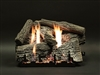 White Mountain Hearth by Empire Vent Free Gas Log Set Super Stacked Wildwood