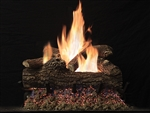 White Mountain Hearth by Empire Vented See-Through Gas Log Set Great Lakes Oak
