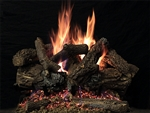 White Mountain Hearth by Empire Vented See-Through Gas Log Set Treehouse 11