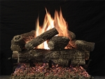 White Mountain Hearth by Empire Vented See-Through Gas Log Set Treehouse 7