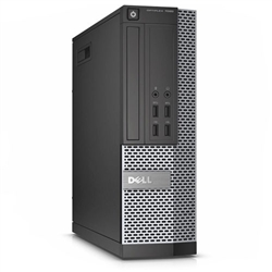 <b>Dell OptiPlex 7010</b> Intel Core i7 (Quad-Core) 3.4GHz, 8GB, DVD-RW, 500GB HD, Small Form Factor Off-Lease PC