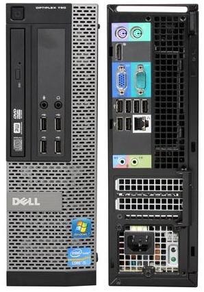Dell OptiPlex 790 Intel Core i5 3 1GHz Quad-Core, 8GB, DVD, 250GB HD, Small  Form Factor Off-Lease PC