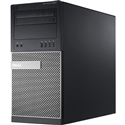 <b>Dell OptiPlex 9020</b> Intel Core i7 (Quad Core) 3.4GHz, 8GB, DVD-RW, 256GB SSD, Minitower Off-Lease PC w/Win 10 Pro 64-bit OS
