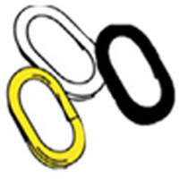 "S HOOK - 2"" - YELLOW Pack of 12"