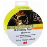 "983-21 ES - Fluorescent Yellow 55mm x 45.7m 3Mâ""¢ Diamond Gradeâ""¢ Vehicle Marking Tapes 983 Series"