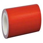 3M Red Reflective Tape 100mm x 45.7m Roll Class 1